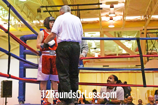 Bout #11: Keshawn Johnson, Red Gloves, Cleveland -vs- Keith Torres, Blue Gloves, Niagara Falls, NY, 132 Lbs.