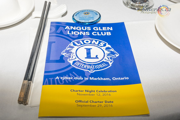 Angus Glen Lions Club - Charter Night Celebration