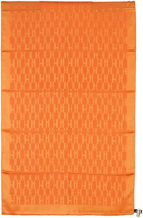 Grand H - Scarf Faconne - 75x180cm - Orange - NWCT - Ref 1309231643