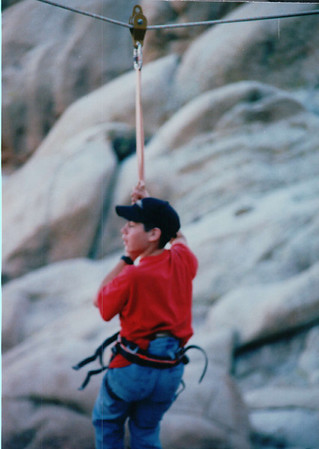 Jan 19~21, 1996 - Joshua Tree National Park Rockclimbing