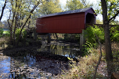 Sugar Creek Covered Bridge, IL