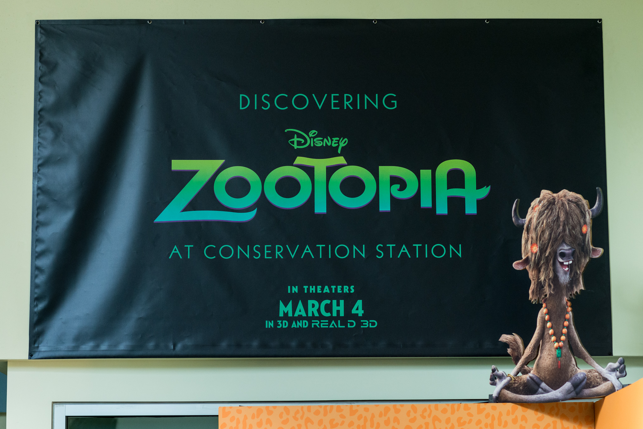 Discovering Zootopia at Conversation Station - Disney's Animal Kingdom