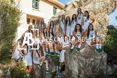 2015-16 Cal Poly Woman's Basketball Team
