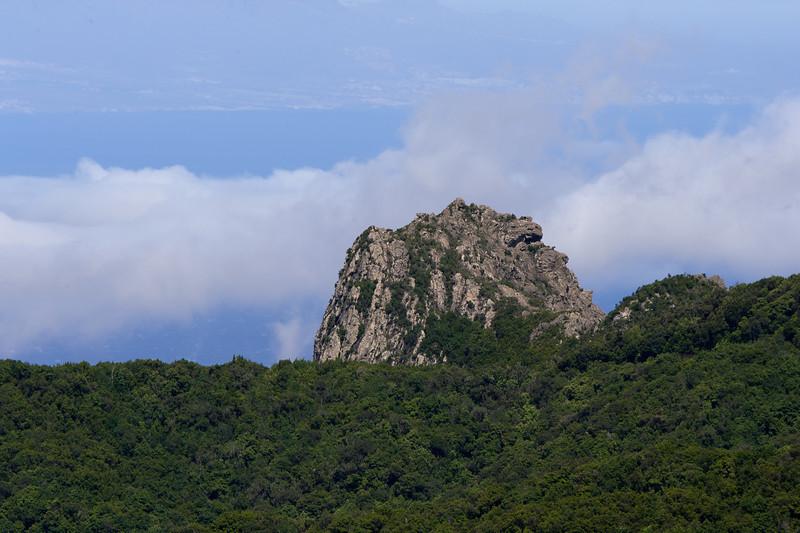 Rock formation in La Gomera, Spain