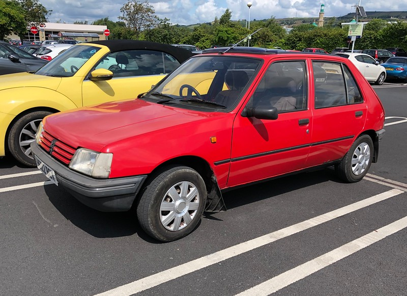 1991 Peugeot 205 GRD