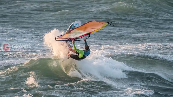 Windsurfing at South Cottesloe Beach