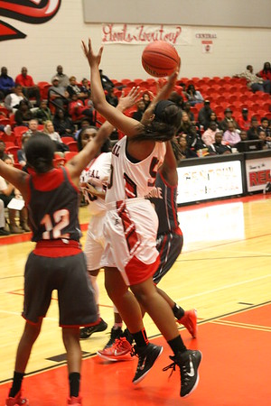 2014 CHS B-Team and Girls vs Northside