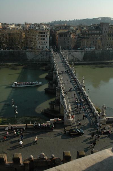 St. Angel Bridge from the Castel Sant'Angelo.