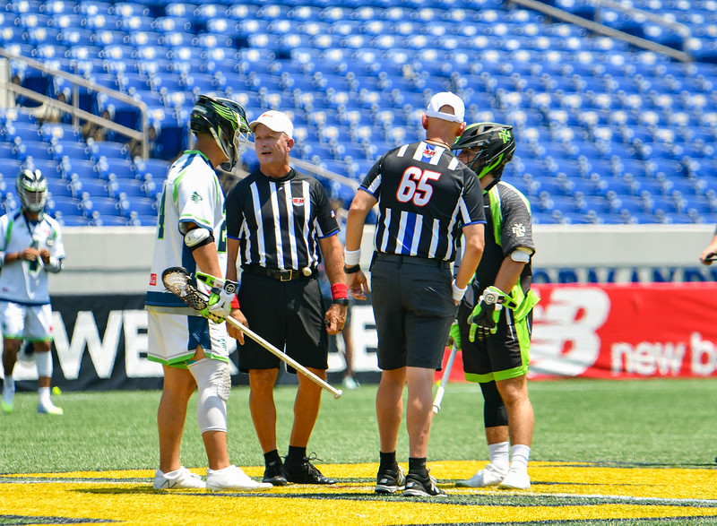July 19, 2020 Annapolis, MD - Navy-Marine Corps Memorial Stadium Chesapeake Bayhawks vs New York Lizards. Photography Credit: Alex McIntyre