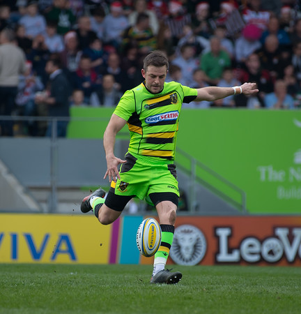 Leicester Tigers vs Northampton Saints, Aviva Premiership, Welford Road, 14 April 2018