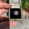1.97ctw Antique Cluster Ring, GIA G SI2 18