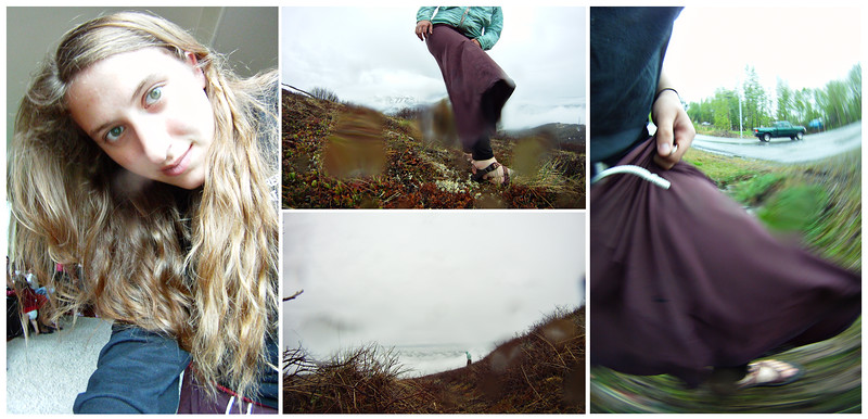 May 24, 2012. Day 139. A rainy day of GoPro portraits and blessings.   Eagle River, AK