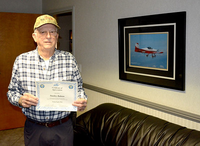 Stanley Bahrns - Certificate of Appreciation EAA