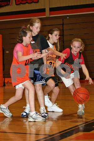 Clearwater Girls'  Intramural Basketball '07