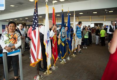 Arrival at Reagan National