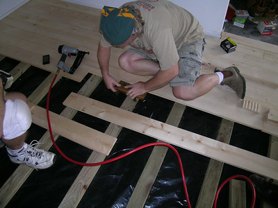 Greg Isola's Floor