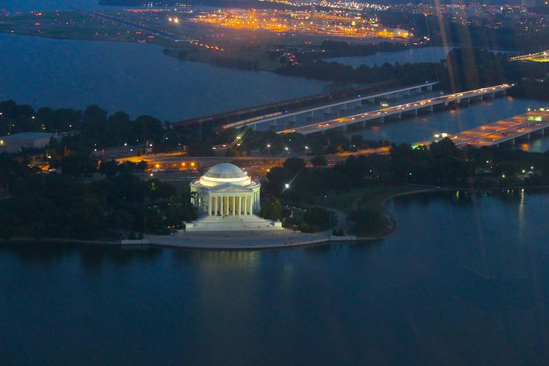 Washington Monument Sunset  618