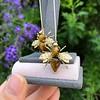 Vintage Bee Conversion Earrings 22