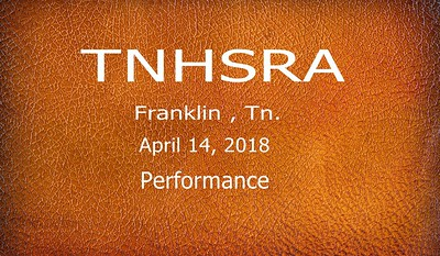 TNHSRA - April, 14th - Performance