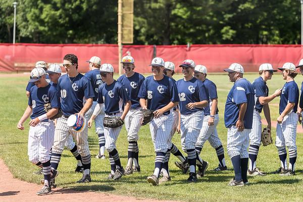 CC Varsity Baseball vs Hebron Semi-State 2016-6-11