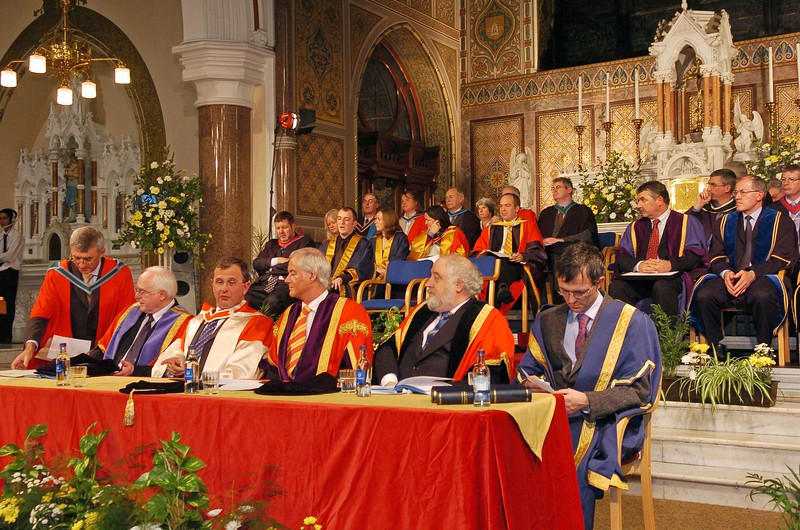 Provision 251006 WIT Graduations Wednesday 25th October, 2006. PIC Bernie Keating/Provision