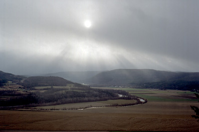 Vroman's Nose Snow Squall