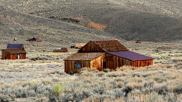 THE TOWN OF BODIE