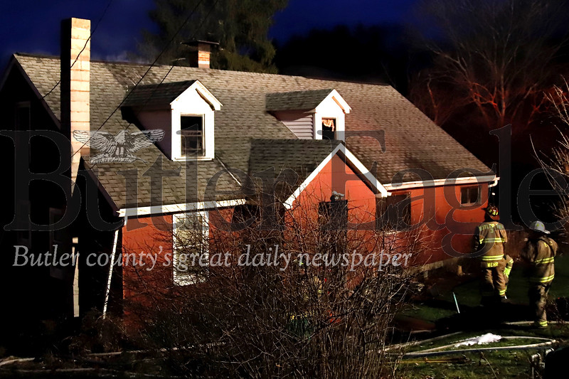 House fire 110 Alhambra Road. Seb Foltz/Butler Eagle