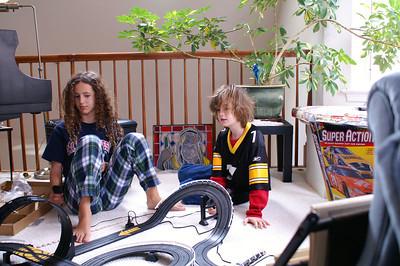 Build a slot car track