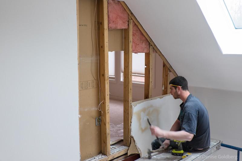 living room :: demolition