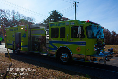 11/23/2012, MVC, Fairfield Twp. Cumberland County, Shoemaker Ln and Clarks Pond Rd.