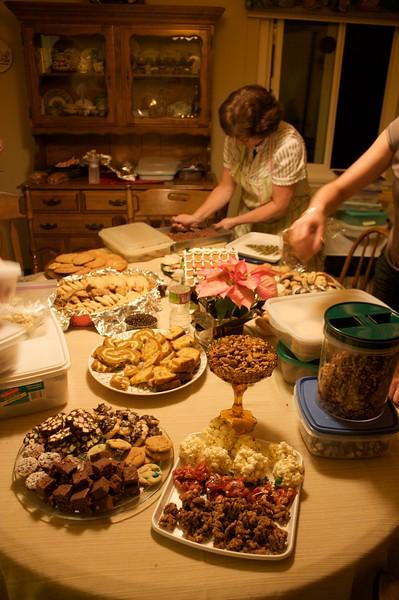 2009 Christmas Eve at Great Grandma Elaine's