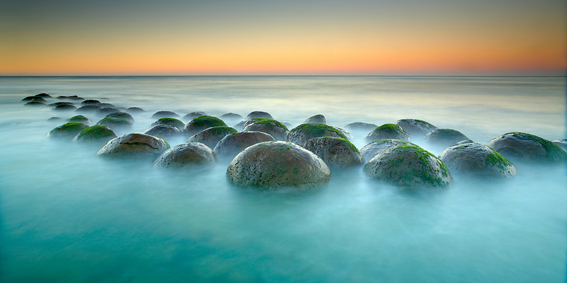 These sandstone concretions at Bowling Ball Beach, a few miles south of Point Arena, California are much like the Moeraki boulders in New Zealand. They are incredible and I'll be back here many times to capture these under different lighting and tidal conditions.