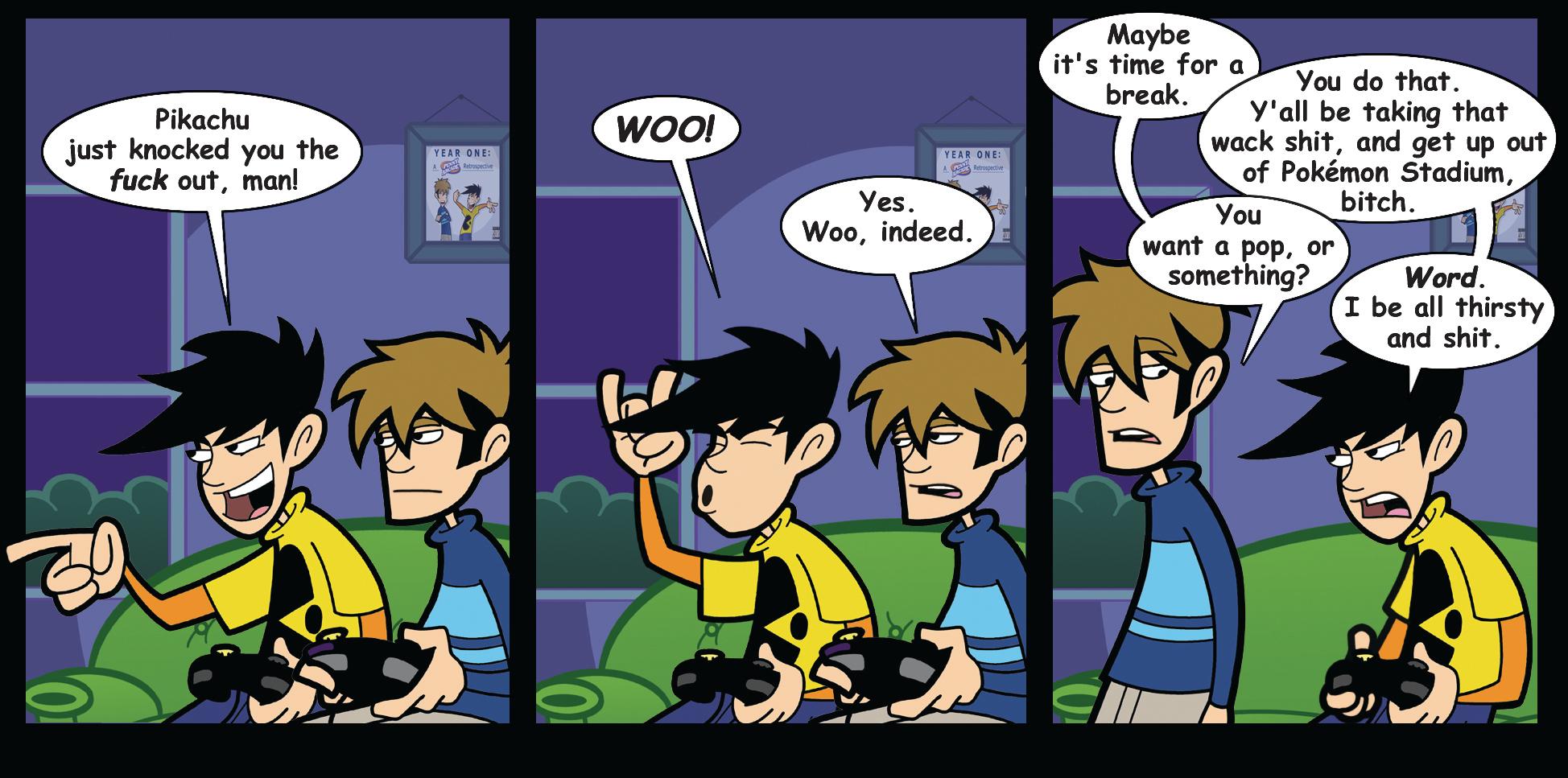 We Like Super Smash Brothers