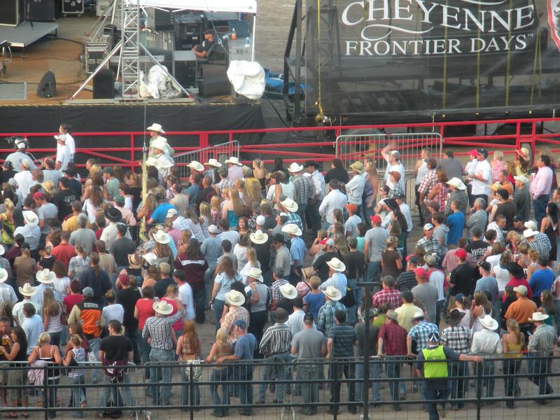 Sawyer Brown concert at Cheyenne Frontier Days