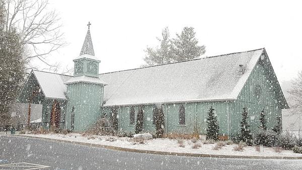 Church in Snow 2016