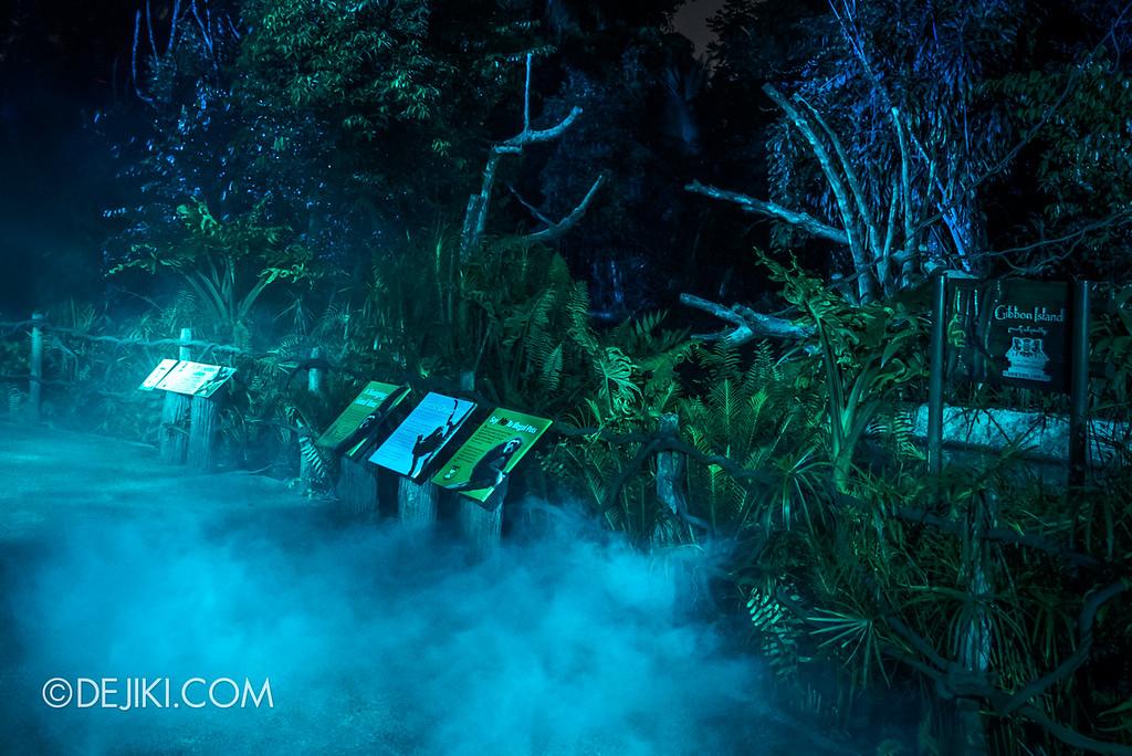 Singapore Zoo Rainforest Lumina - Water zone 2 fog