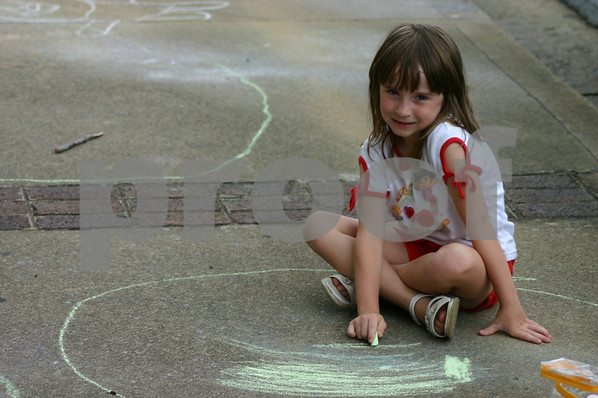 Chalk Drawing - July 2005