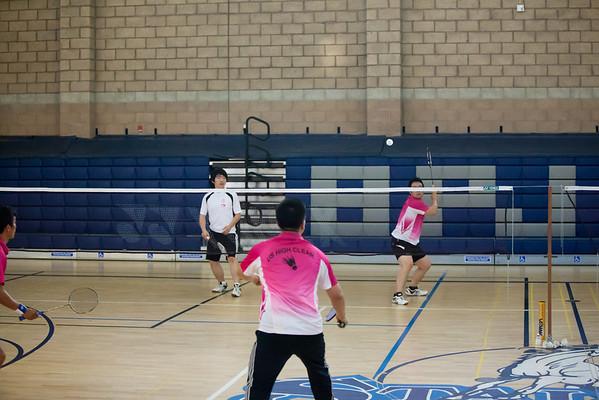 Badminton at TGK Church 6.12.2010