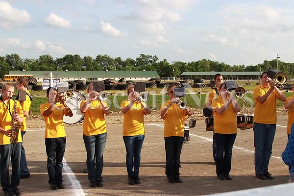 06-22-15 Putnam County Fair Jr. Fair Royalty and Bands