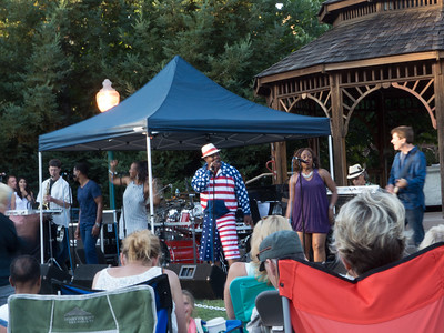 Fourth of July Att Park concert in the park