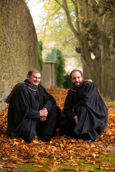 02/11/2018. Waterford Institute of Technology (WIT) Conferring Ceremonies 2018. Pictiured are Tomasz and Kacper Kolodziejczyk from New Ross. Picture: Patrick Browne