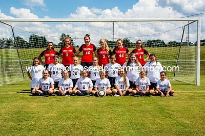 Middle School Girls Soccer 2018