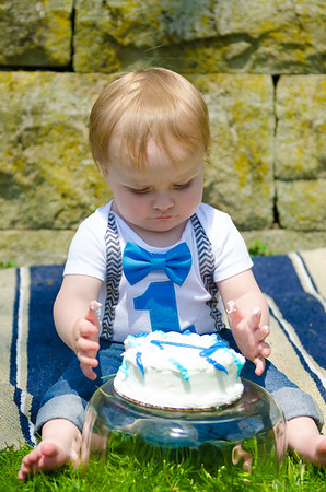 ROMAN'S FIRST BIRTHDAY