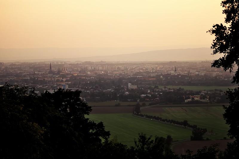 Olomouc ze Svatého Kopečku