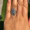 1.75ctw Edwardian Toi et Moi Old European Cut Diamond Ring  65