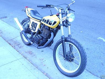 1977 Yamaha TT500 Flat Tracker