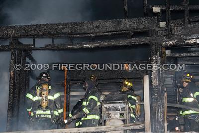Quincy Condominium Fire (Fairfield, CT) 12/8/09