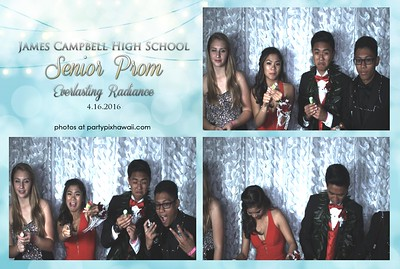 James Campbell HS Senior Prom 2016 (Slow Motion Photo Booth)