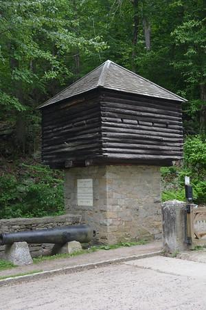 General Israel Putnam memorial park in Redding, CT